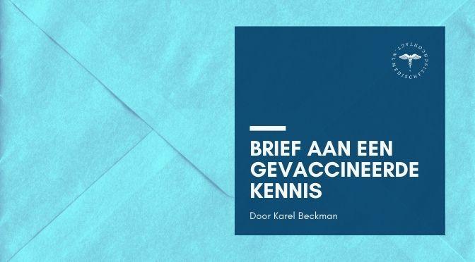 brief aan een gevaccineerde kennis