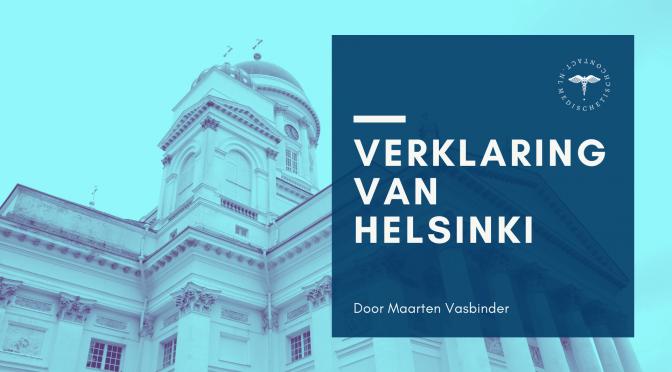 verklaring van helsinki - door Maarten Vasbinder
